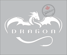 'Dragon Rocket Space X' Premium Vinyl Decal