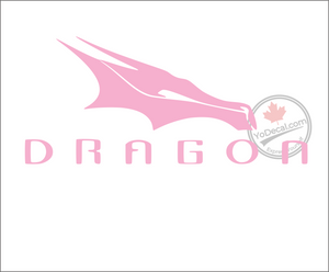'Dragon Rocket Logo 1' Premium Vinyl Decal