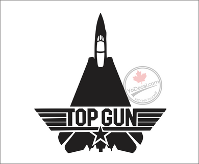 'F-14 Tomcat Top Gun' Premium Vinyl Decal