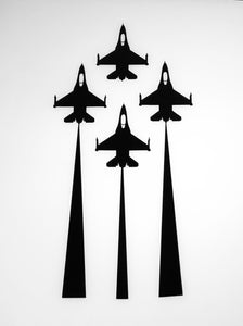 'F-16 Diamond' Premium Vinyl Decal