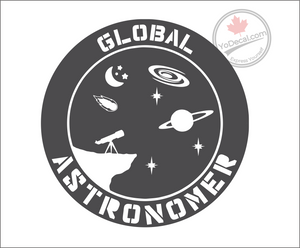 'Global Astronomer' Premium Vinyl Decal