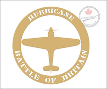 'Hurricane Battle of Britain' Premium Vinyl Decal