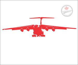 'IL-76' Premium Vinyl Decal