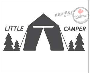 'Little Camper' Premium Vinyl Wall Decal