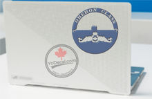 'Oberon Class & Submariner Badge' Premium Vinyl Decal / Sticker