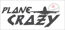 'Plane Crazy' Premium Vinyl Decal