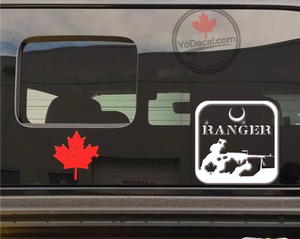 'Queen's York Ranger' Premium Vinyl Decal