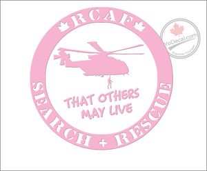 'RCAF Search & Rescue That Others May Live' Premium Vinyl Decal