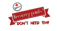 'Recovery Points? Don't Need 'Em!' Premium Vinyl Decal