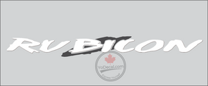 'Rubicon 38 Banner' Premium Vinyl Decal