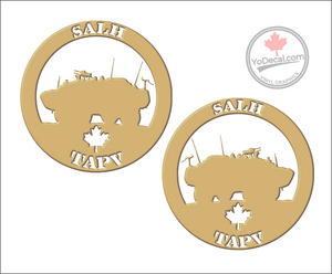 'SALH TAPV (PAIR)' Premium Vinyl Decal
