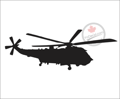 'Sikorsky SH-3 Sea King' Premium Vinyl Decal