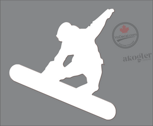 'Snowboard Magic' Premium Vinyl Decal