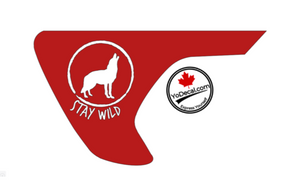 'Stay Wild - Jeep JL Fenders (Pair)' Premium Vinyl Decal