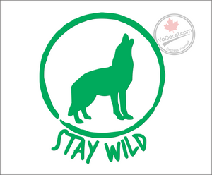 'Stay Wild' Premium Vinyl Decal