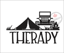 'Therapy - Jeep' Premium Vinyl Decal