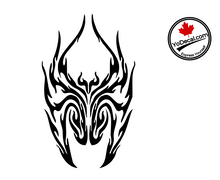 'Fire Spider - Pair' Premium Vinyl Decal