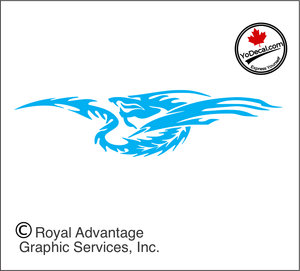 'Dragon Sting (Pair)' Premium Vinyl Decal