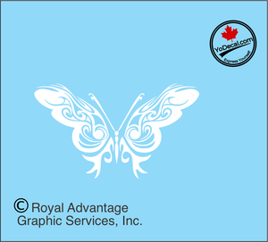 'Butterfly Beauty' Premium Vinyl Decal