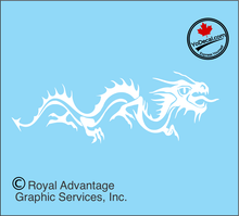 'Dragon Crawler (Pair)' Premium Vinyl Decal