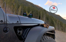 'Life's Better Outdoors (River) - Jeep JL Fenders (Pair)' Premium Vinyl Decal