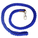 Knotted Nylon Leash for Dogs, Cobalt Blue
