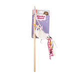 FOFOS Blocky MEOW BIRD WAND Cat Toy