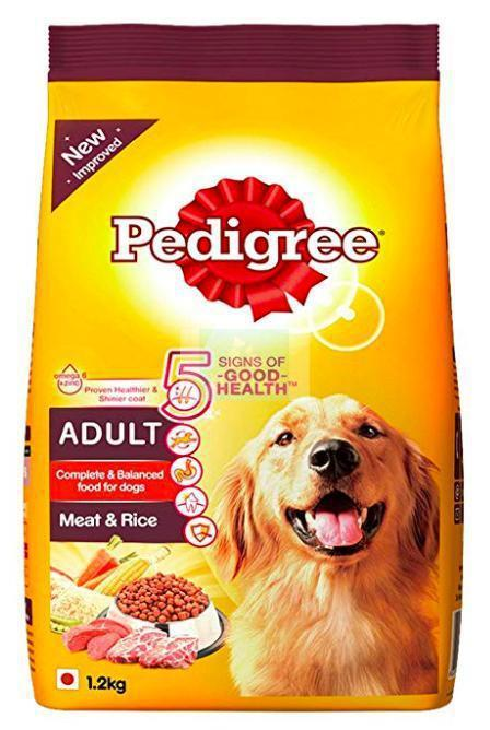 Pedigree ADULT MEAT & RICE Dog Dry Food-Pedigree-XOXOtails