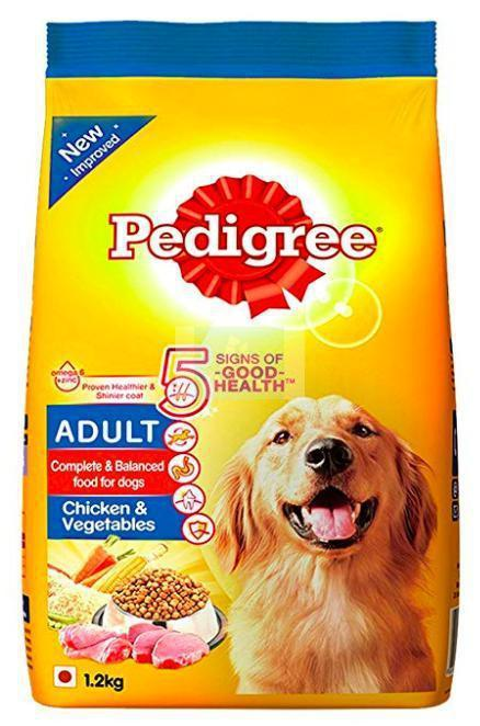 Pedigree ADULT CHICKEN & VEG Dog Dry Food-Pedigree-XOXOtails