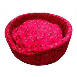 Wine Heart Basket Bed for Dogs-XOXOtails