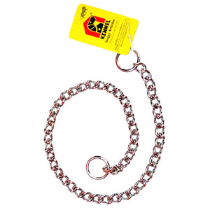 Kennel Choke Chain for Dogs, 1.3 cm-XOXOtails