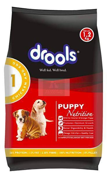 Drools Puppy Dog Dry Food, Chicken & Egg-Drools-XOXOtails