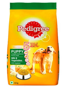 Pedigree PUPPY MILK & VEGETABLES Dog Dry Food, 1.2 KG-Pedigree-XOXOtails