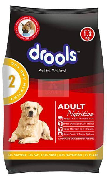 Drools Adult Dog Dry Food, Chicken & Egg-Drools-XOXOtails