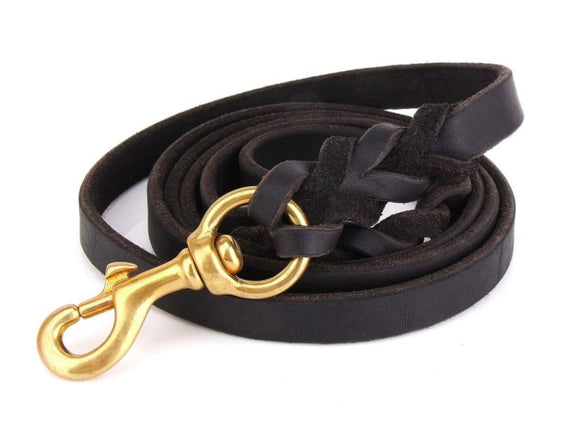 Emily Leather Leash,6Ft-Emily-XOXOtails