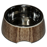 Melamine Solid Bowls for Dogs, Woody