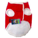 Secret Santa Winter Jackets for Dogs, Red