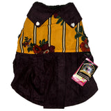 Floral Skirt Shaped Winter Jackets for Dogs