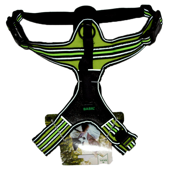 Comfortable Chest Harness for Dogs, Lime Green-XOXOtails