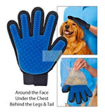 5 Finger Deshedding Grooming Glove for Dogs and Cats-Smarty Pet-XOXOtails
