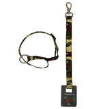 Camouflage Army Leash & Collar Set For Dogs