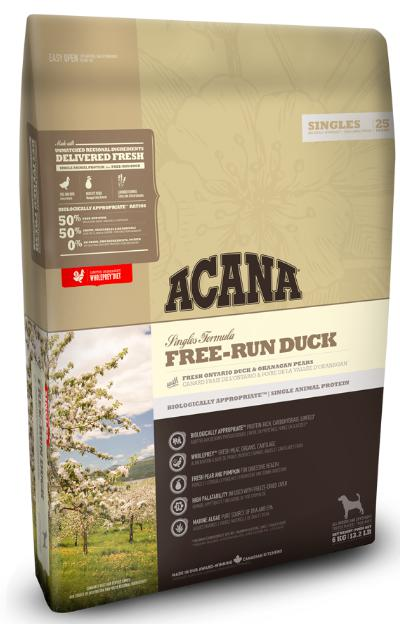 Acana Free Run Duck Dog Dry Food-Acana-XOXOtails