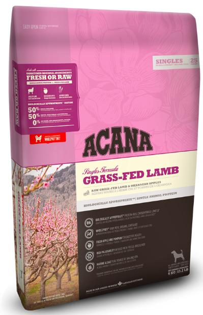 Acana Grass Fed Lamb Dog Dry Food-Acana-XOXOtails