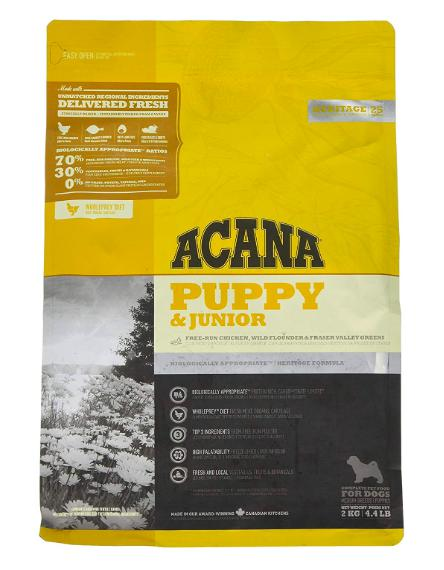 Acana Puppy & Junior Dog Dry Food-Acana-XOXOtails