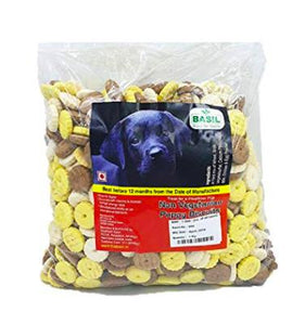Basil Ring Shaped Non-Veg Biscuits for Puppy, 900 G-Basil-XOXOtails