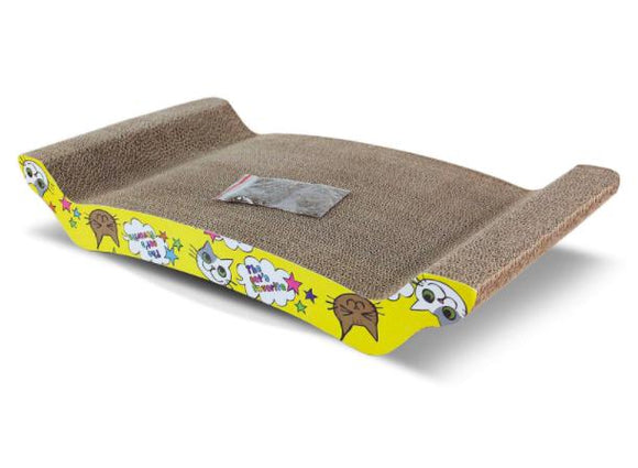 Basil Scratch Pad Toy for Cat with Catnip