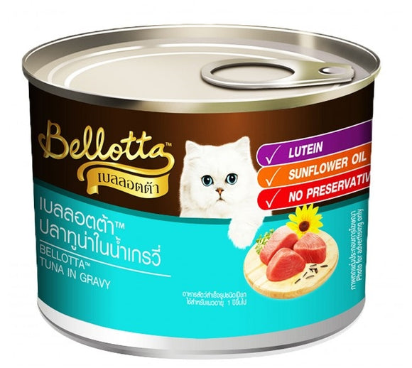 Bellota Tuna in Gravy Cat Canned Food 185 Gm