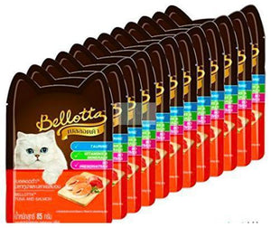 Bellotta Wet Food for Cats and Kittens, Tuna and Salmon, 85 g-XOXOtails-XOXOtails