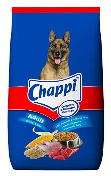 CHAPPI Adult CHICKEN & RICE Dog Dry Food, 20 KG-Chappi-XOXOtails