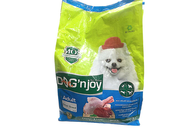 Dog'njoy Chicken & Liver Adult Small Breed Dog Dry Food-XOXOtails